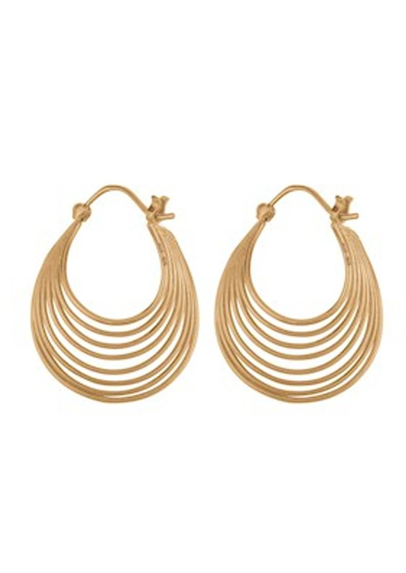 PERNILLE CORYDON Silhouette Earrings - Gold main image
