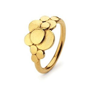 Multi Coin Ring - Gold
