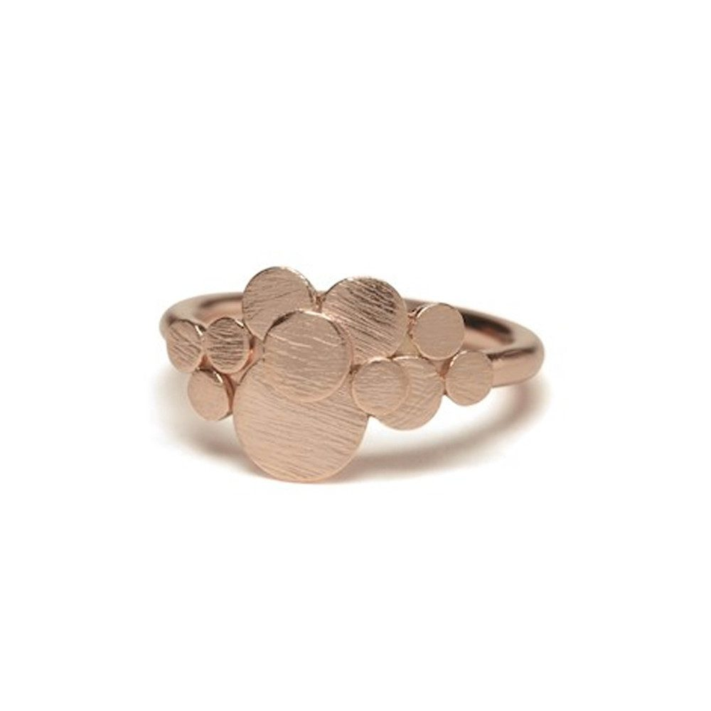 Multi Coin Ring - Rose Gold