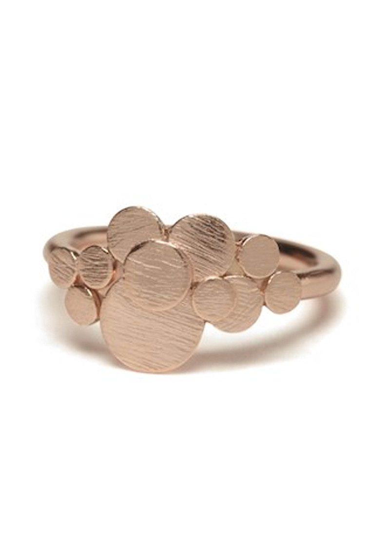PERNILLE CORYDON Multi Coin Ring - Rose Gold main image