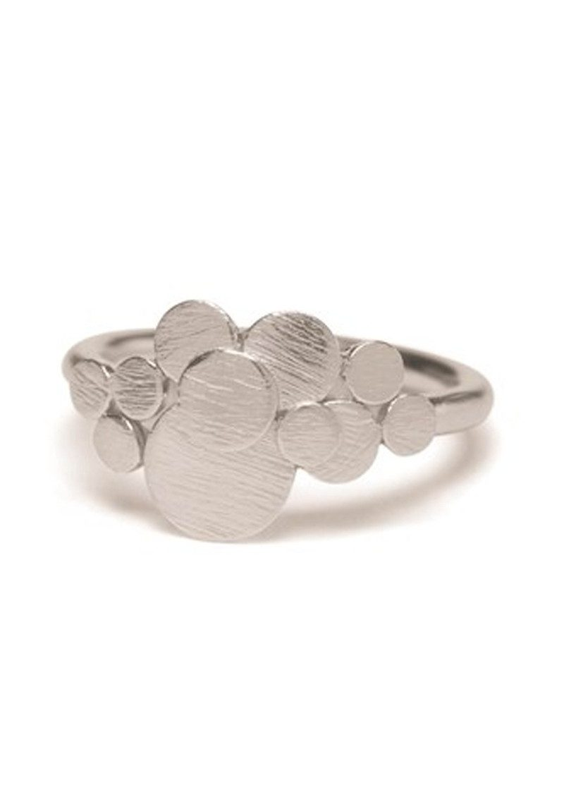 PERNILLE CORYDON Multi Coin Ring - Silver main image