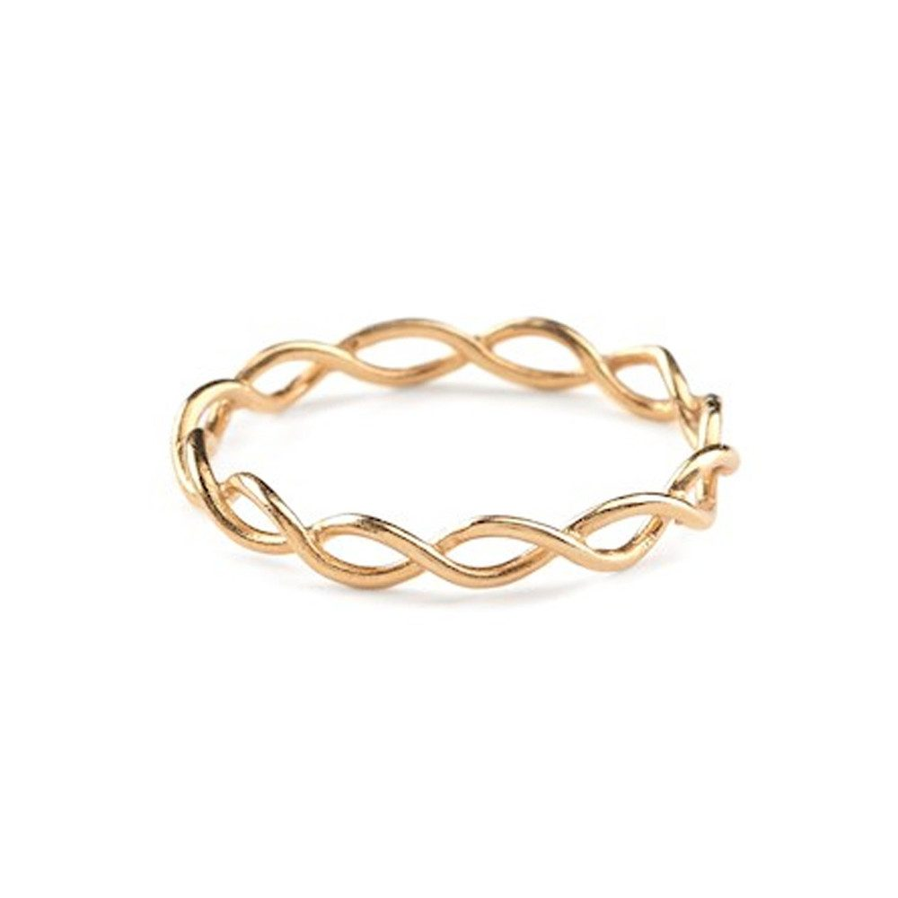 Entangled Ring - Gold