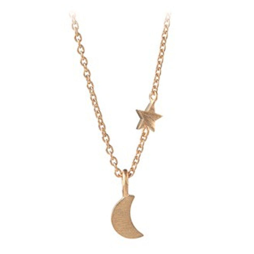 Luna Star Necklace - Gold