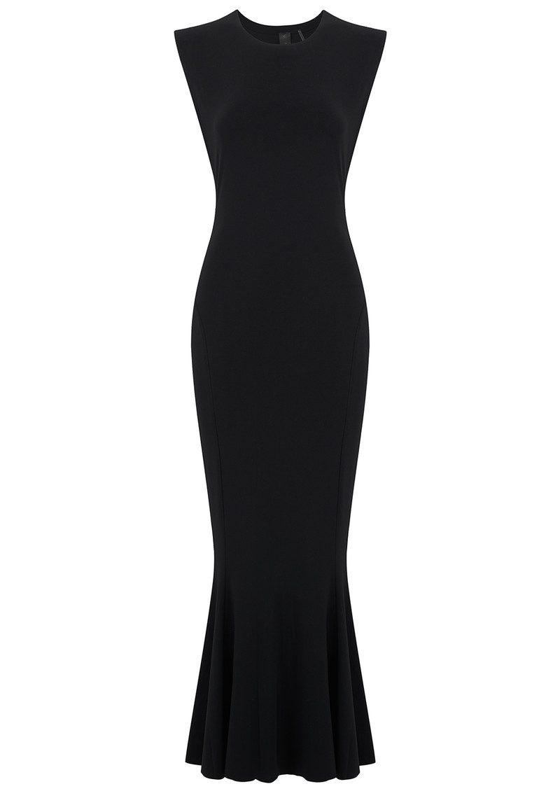 KAMALI KULTURE Sleeveless Fishtail Dress - Black main image
