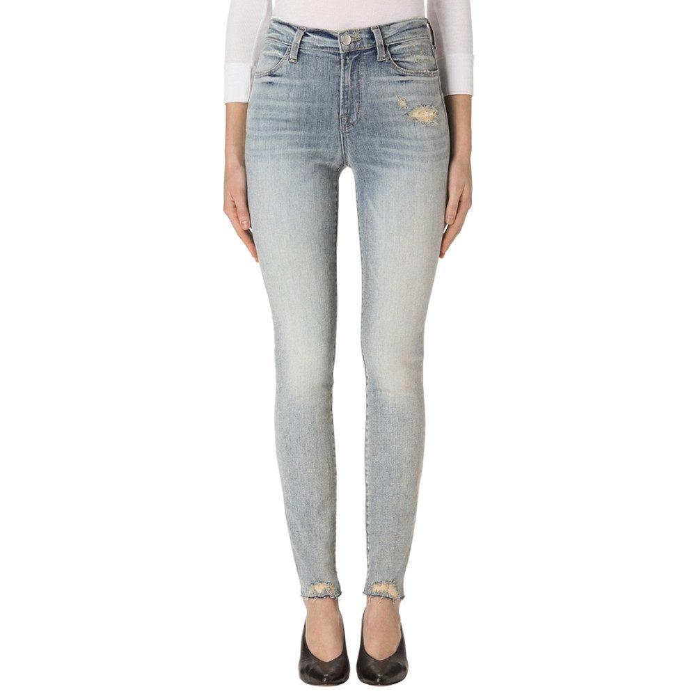 Maria High Rise Skinny Jeans - Remnant Destruct