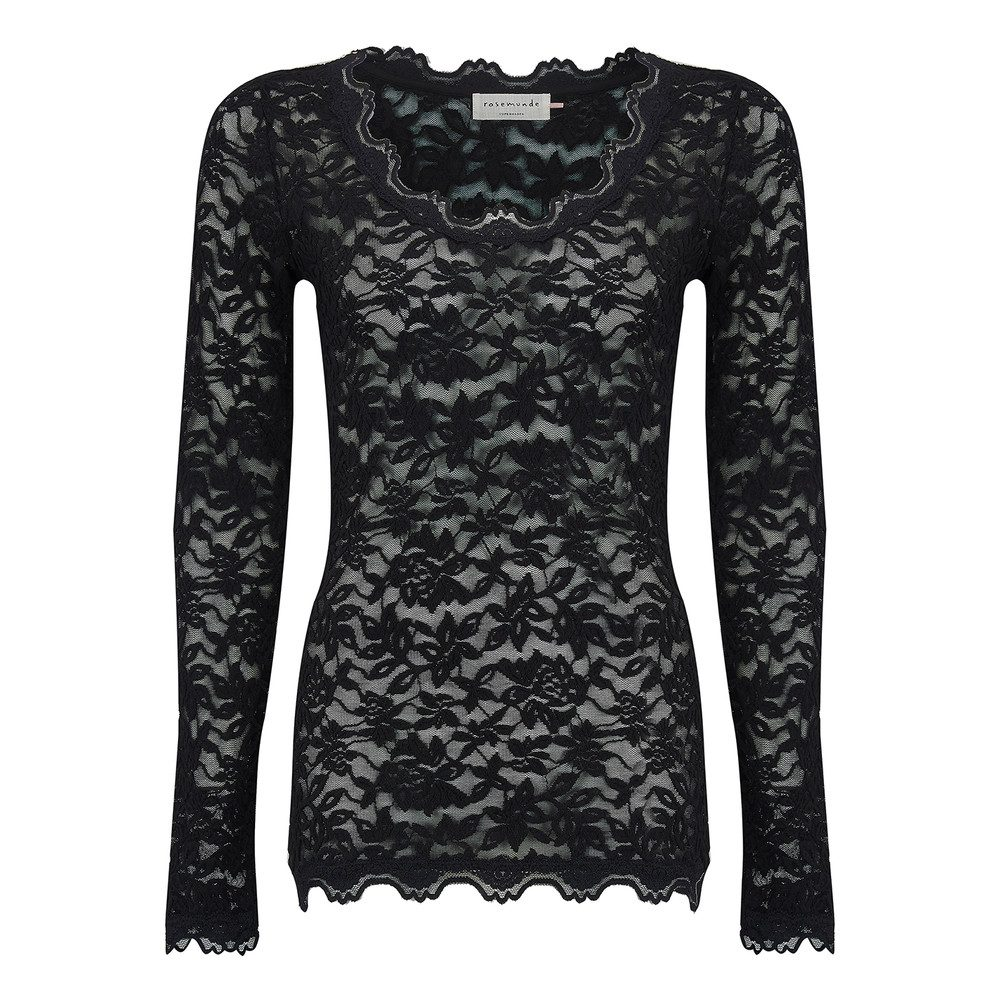 Delicia Lace Top - Black