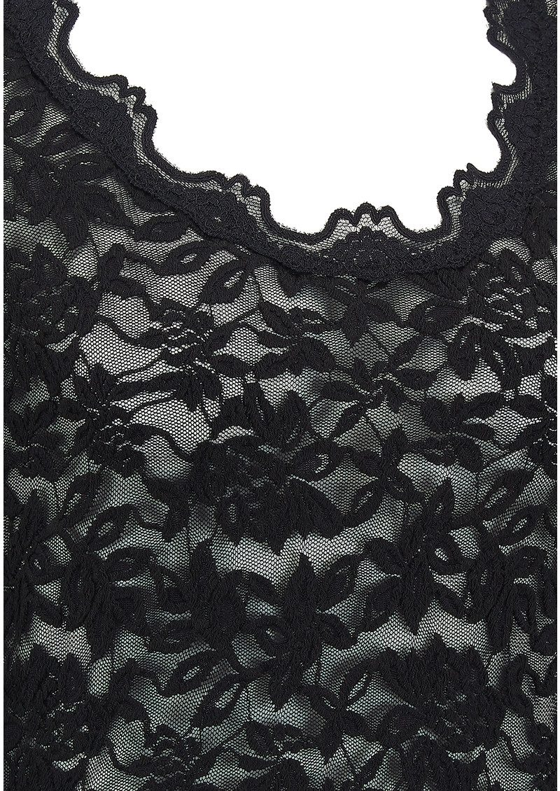 Rosemunde Delicia Lace Top - Black main image