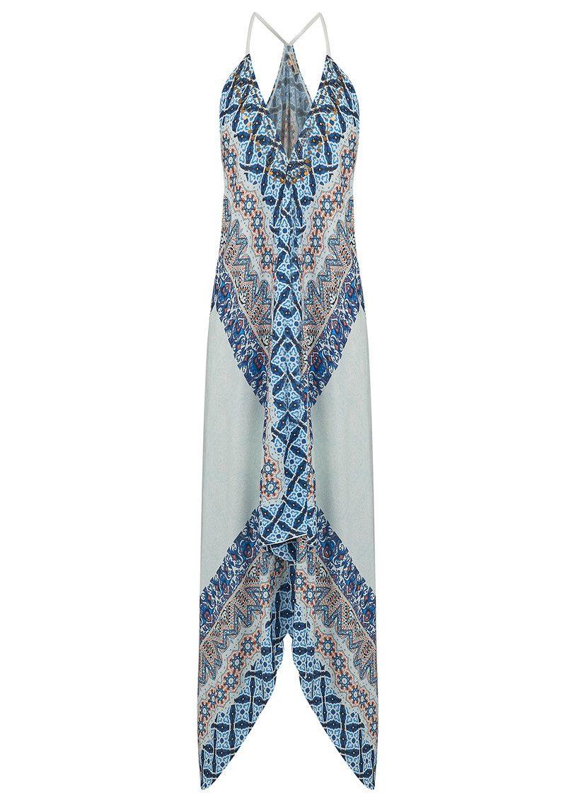 BON BON BEACH Atlantis Dress - Blue main image