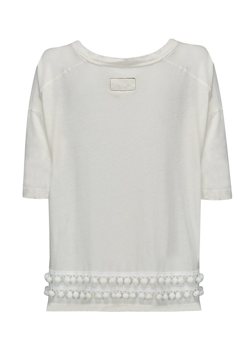 Current/Elliott The Pom Pom Tee - Star White main image