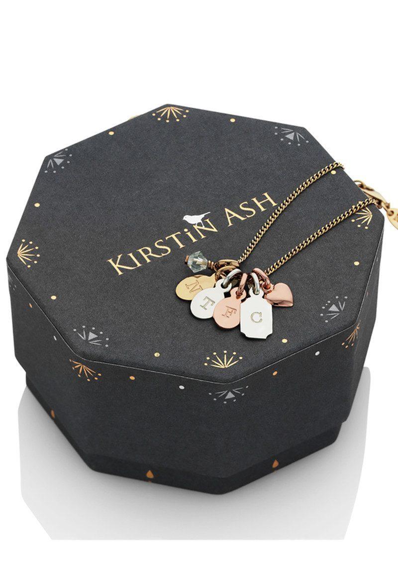 KIRSTIN ASH Bespoke Alphabet 'R' Charm - Rose Gold main image