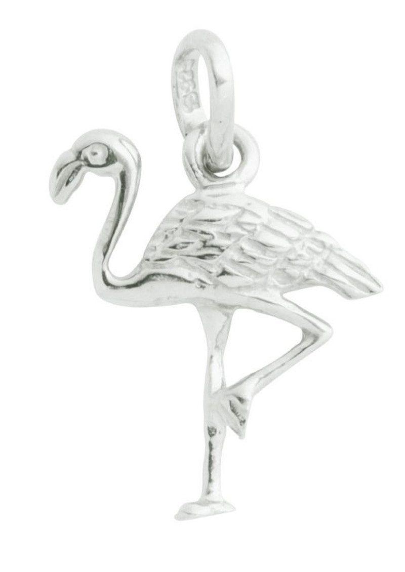 KIRSTIN ASH Bespoke Flamingo Charm - Silver main image