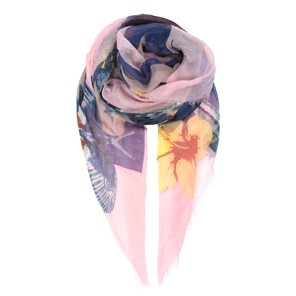 Kailua Scarf - Orchid Pink