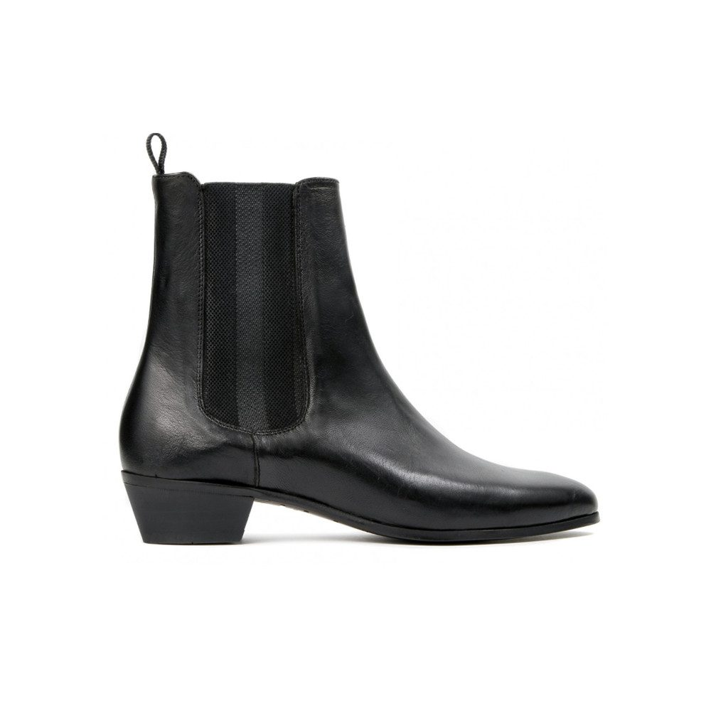 Kenny Leather Boot - Black