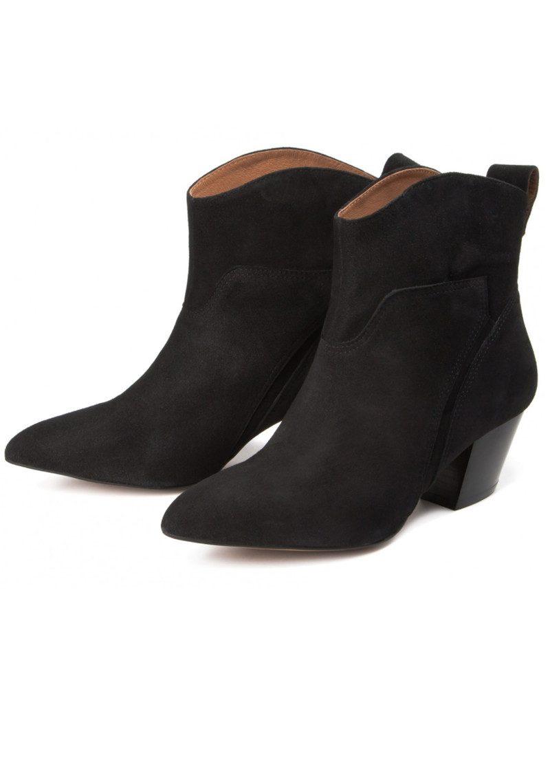 Hudson London Karyn Suede Ankle Boot - Black main image