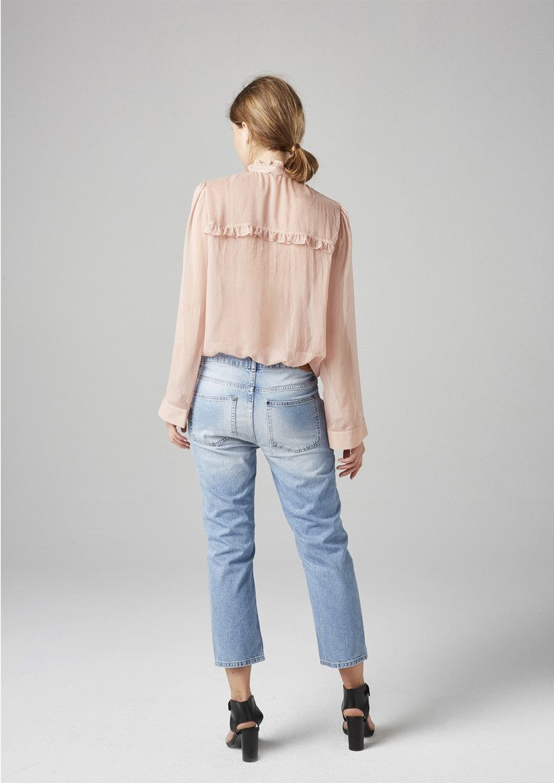 Twist and Tango Adeline Blouse - Rose main image