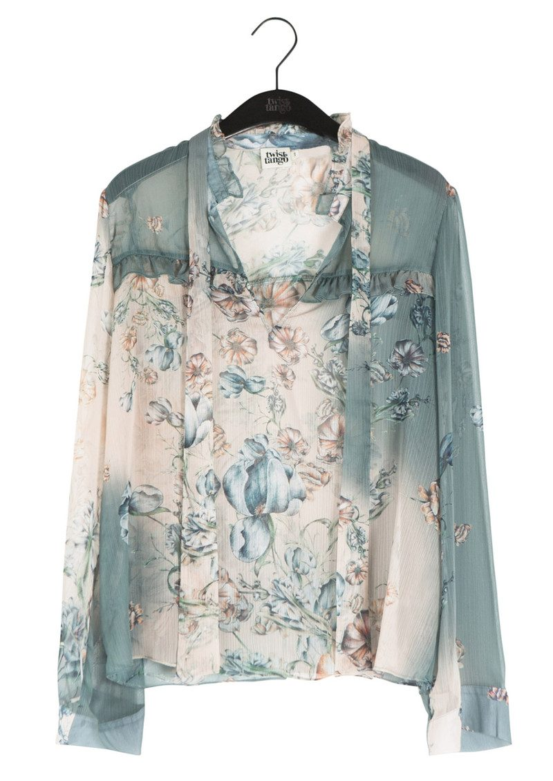 Twist and Tango Adeline Blouse - Poppy Flower main image