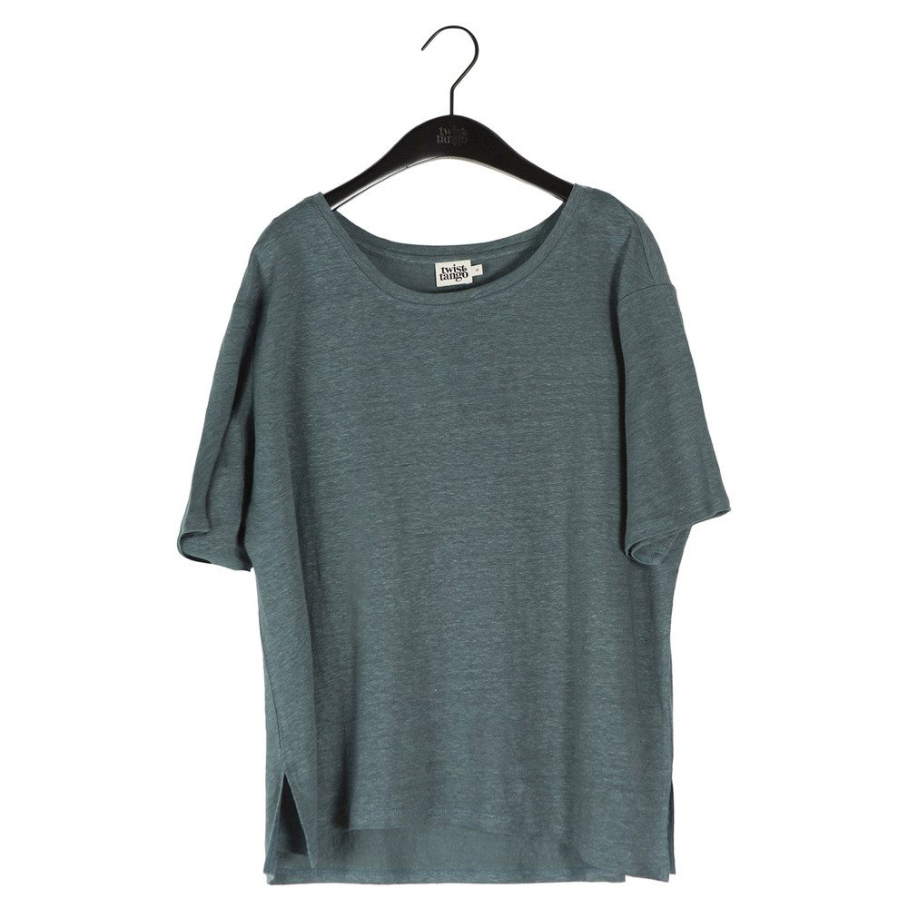 Naima Tee - Greyish Green