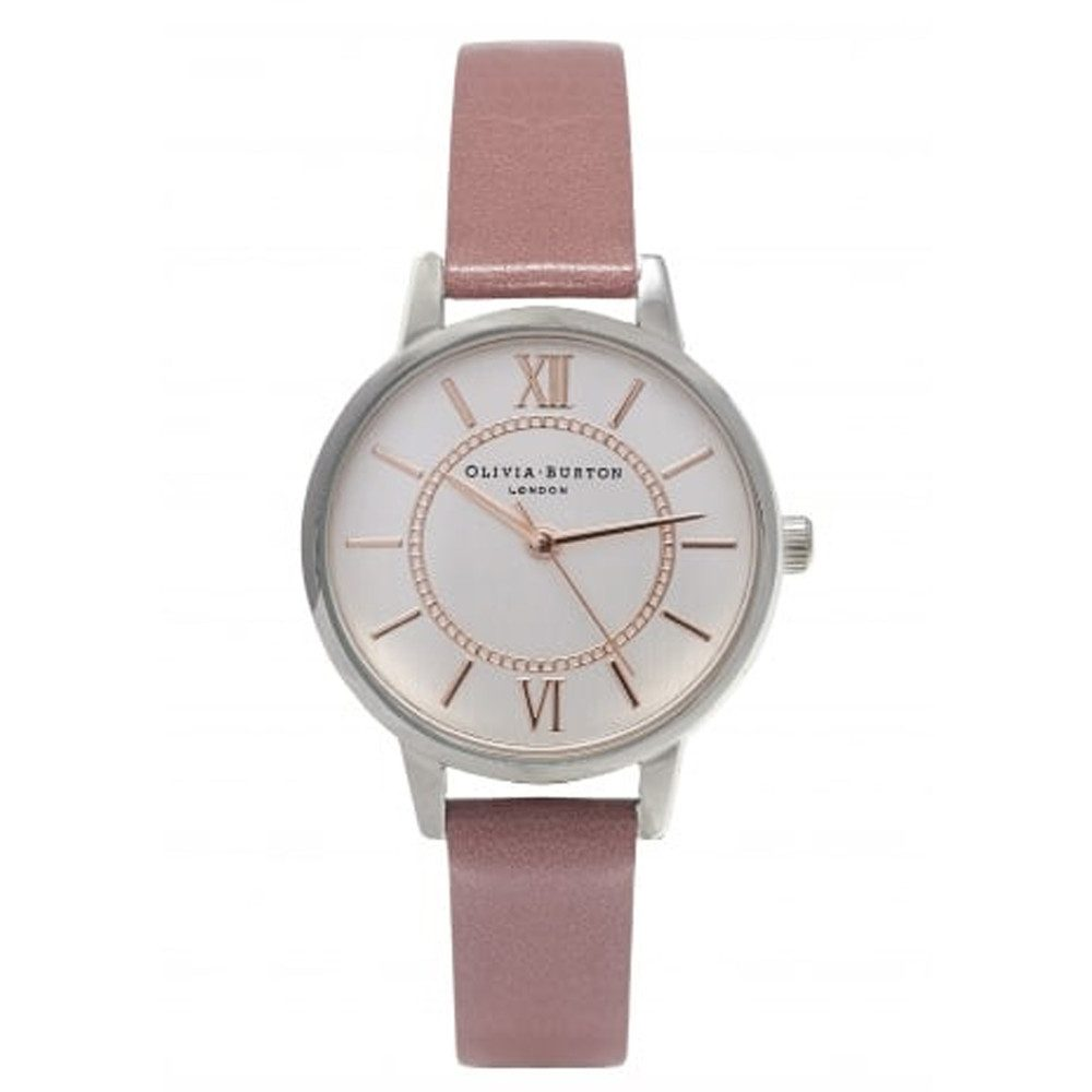 Wonderland Watch - Rose, Silver & Rose Gold
