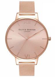 Olivia Burton Big Sunray Dial Watch - Rose Gold