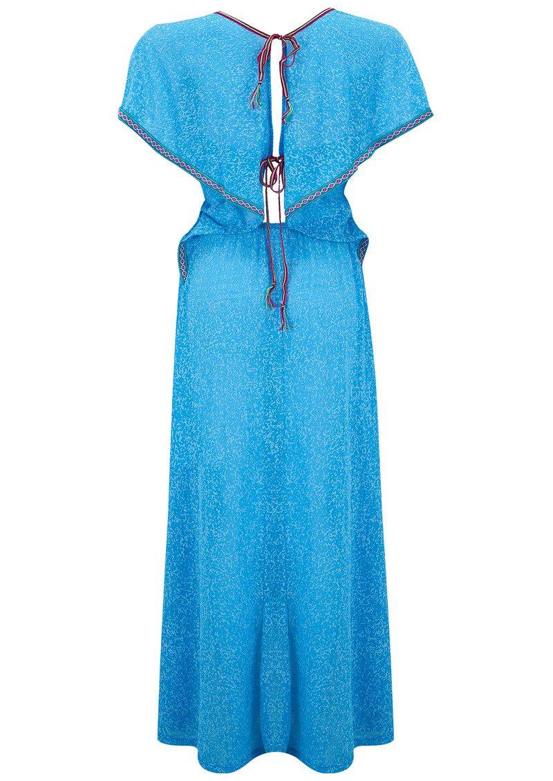 PITUSA Florentina Maxi Dress - Blue main image