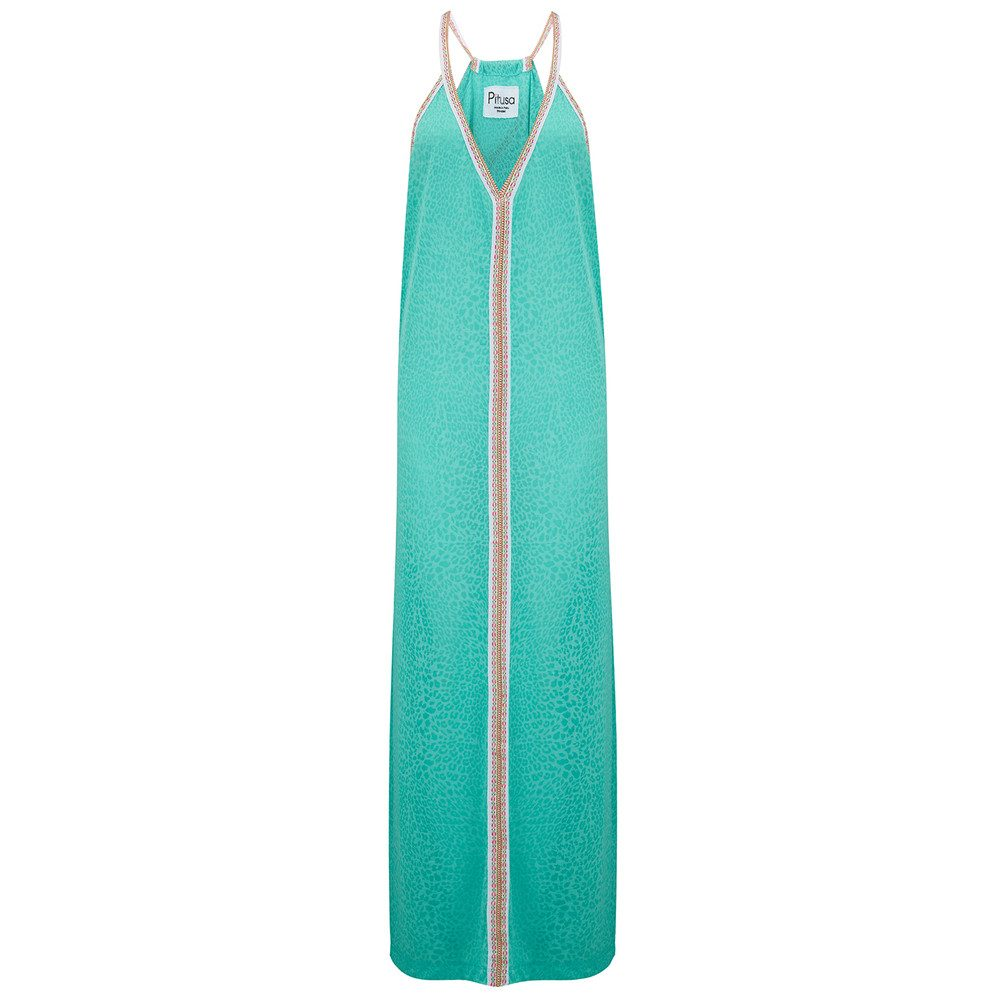 Cheetah Sun Dress - Mint