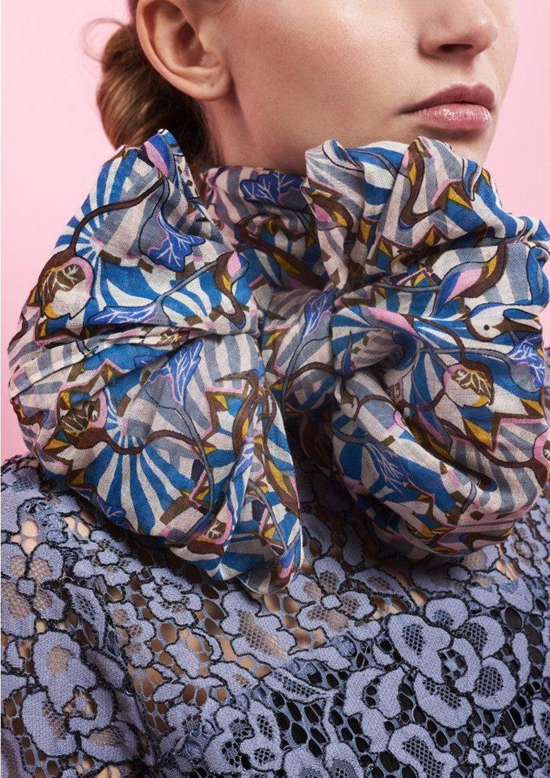 Becksondergaard Charonne Cotton Scarf - Multi main image