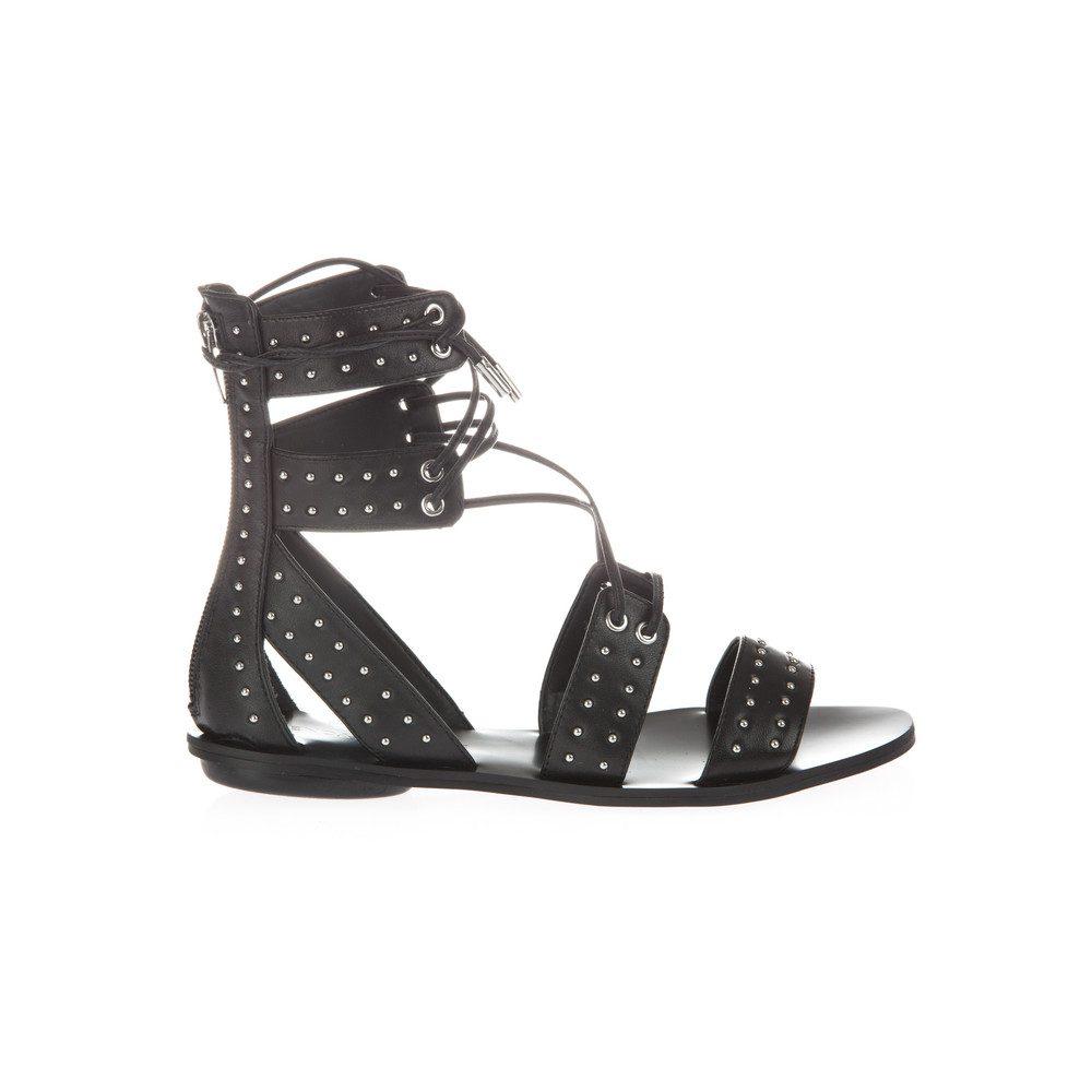 Fabia Gladiator Sandals - Black