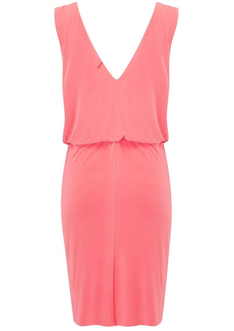 MISA Los Angeles Leza Dress - Coral main image