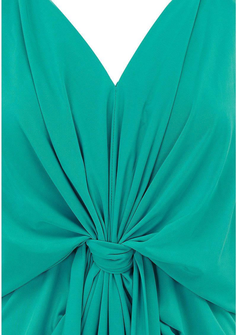 MISA Los Angeles Domino Spaghetti Strap Dress - Jade main image