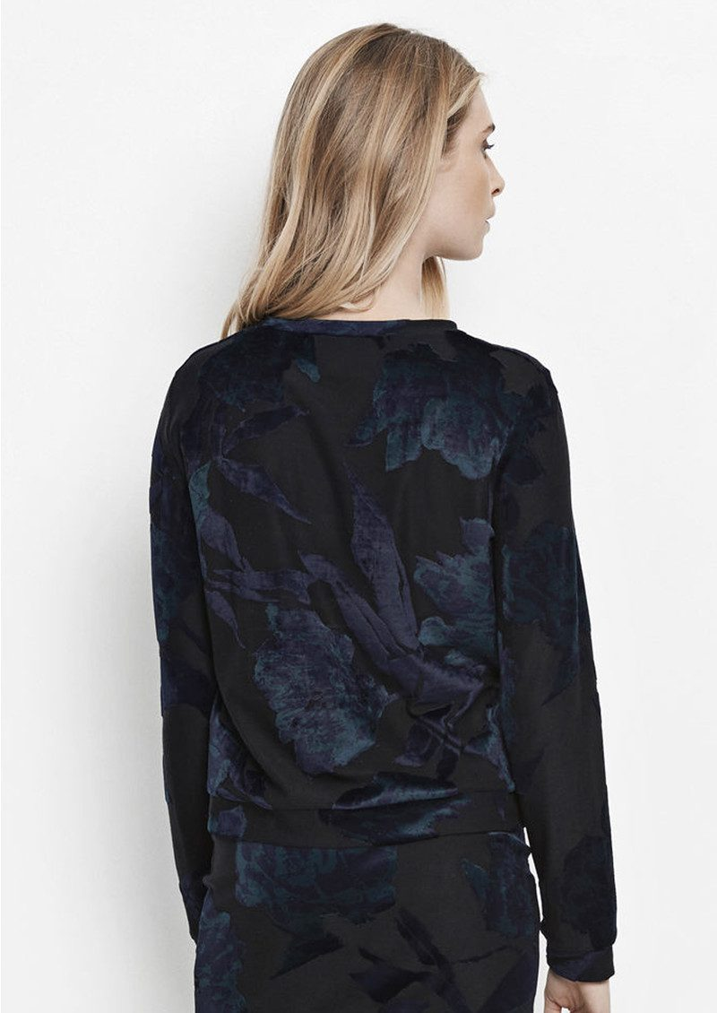 Joyce Long Sleeve Top - Fleurie Sombre main image