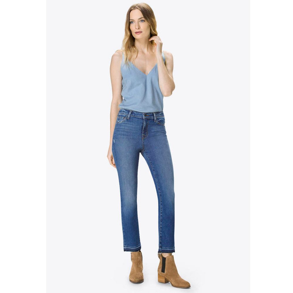 Ruby High Rise Cropped Cigarette Jeans - Virtuosity