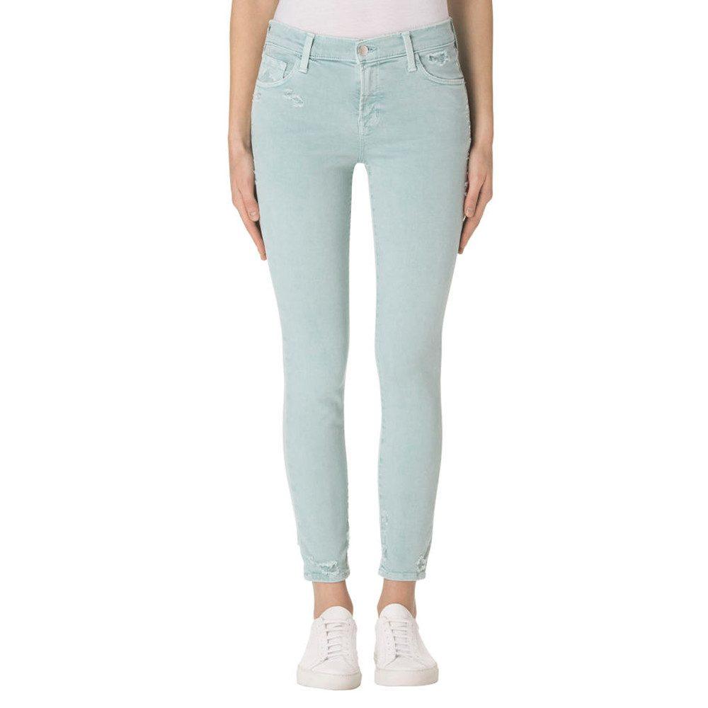 Mid Rise Photo Ready Capri Jeans - Liason