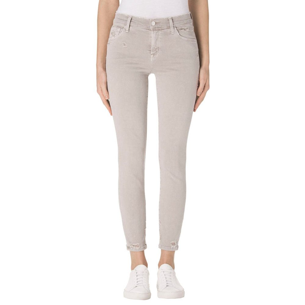 Mid Rise Photo Ready Capri Jeans - Smokey Grey