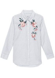 Rails Nevin Floral Embroidery Shirt - Stripe