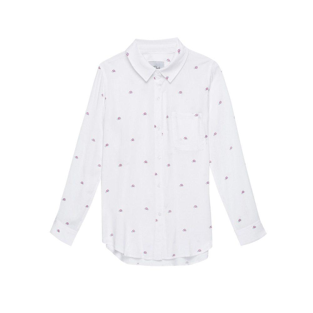 Rocsi Shirt - Hibiscus Print