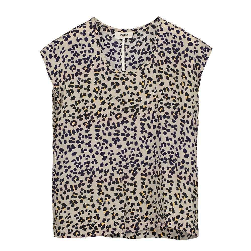 Aimee Printed Top - Animal Ombre