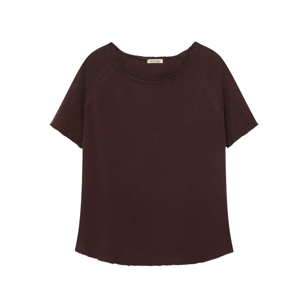 Sonoma Short Sleeve Top - Morello