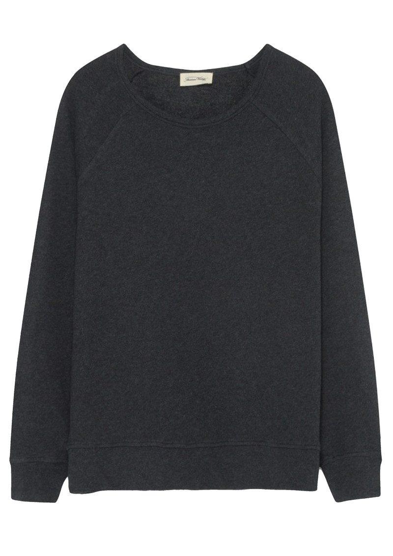 American Vintage Jaguar Sweater - Charcoal Melange main image