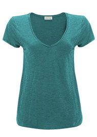 American Vintage Jacksonville Short Sleeve T-Shirt - Heron