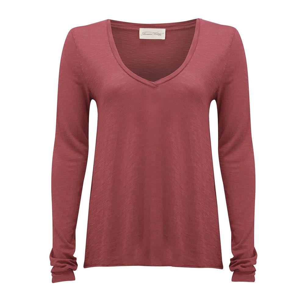 Jacksonville Long Sleeved T-Shirt - Cherry Tree