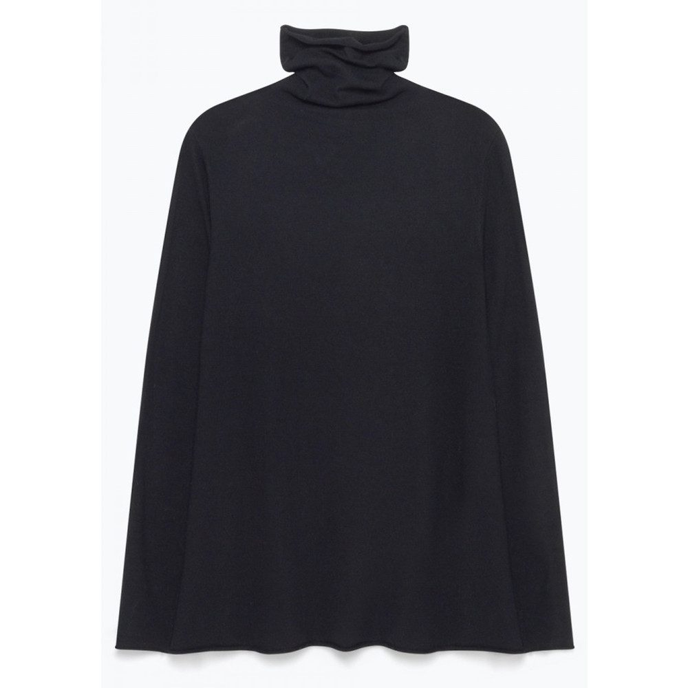 Lobaisland Polo Neck Jumper - Black