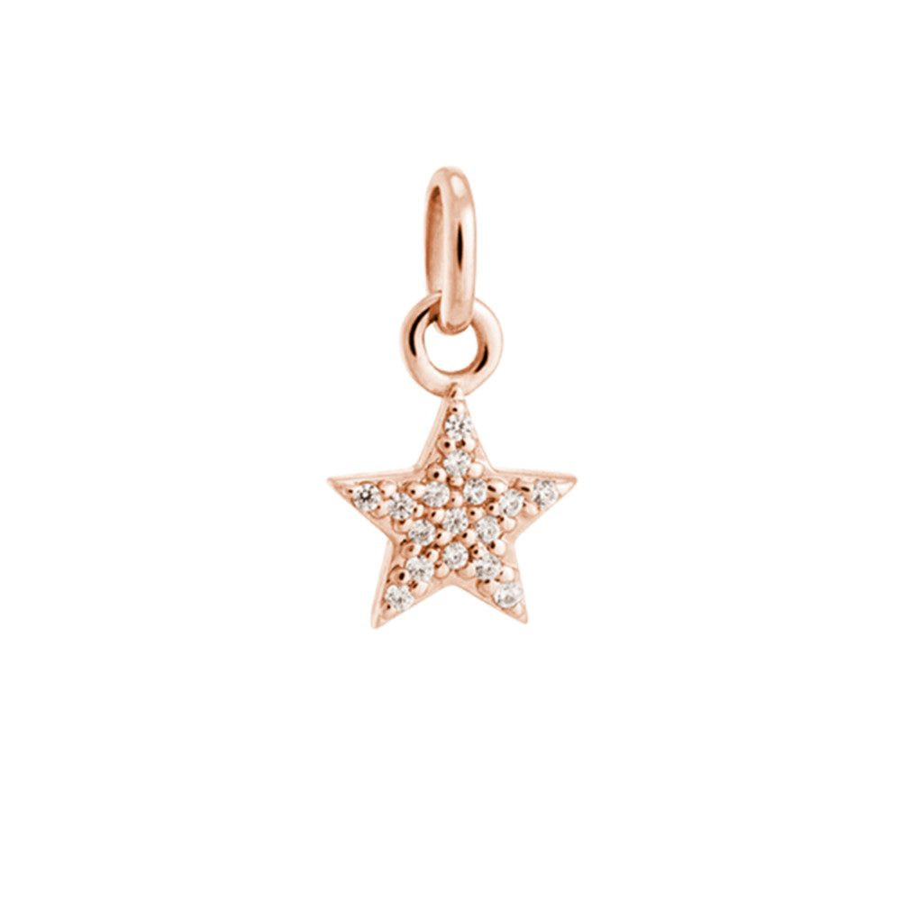 Bespoke Star Crystal Charm - Rose Gold