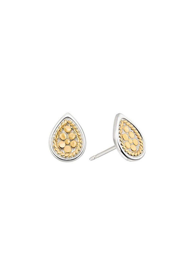ANNA BECK Teardrop Stud Earrings - Gold main image