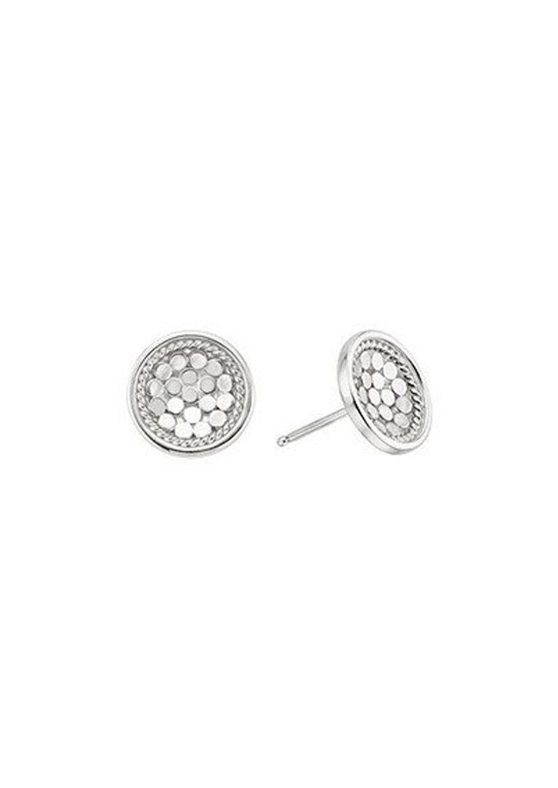 ANNA BECK Dish Stud Earrings - Silver main image