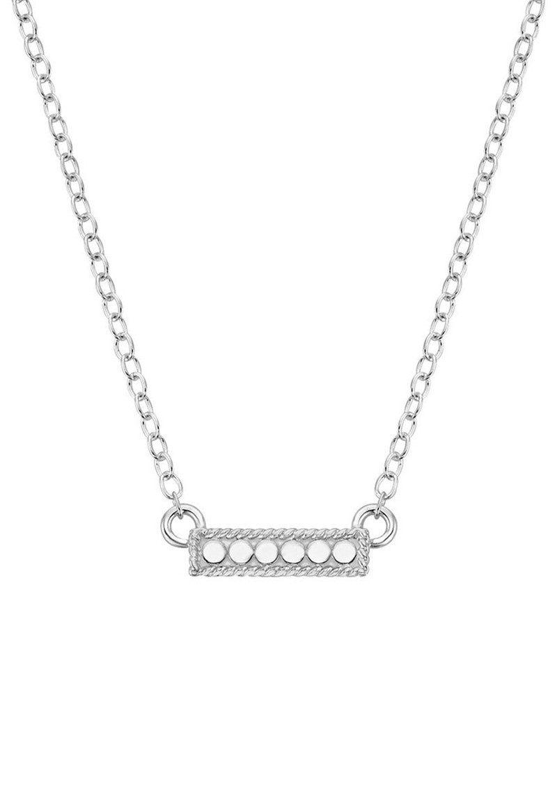 ANNA BECK Mini Bar Reversible Necklace - Gold & Silver main image
