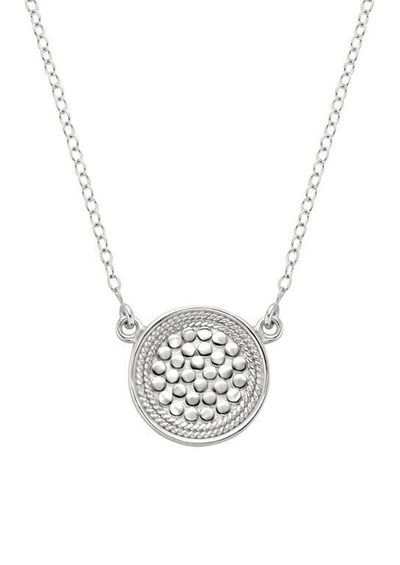 ANNA BECK Reversible Disc Necklace - Gold & Silver main image