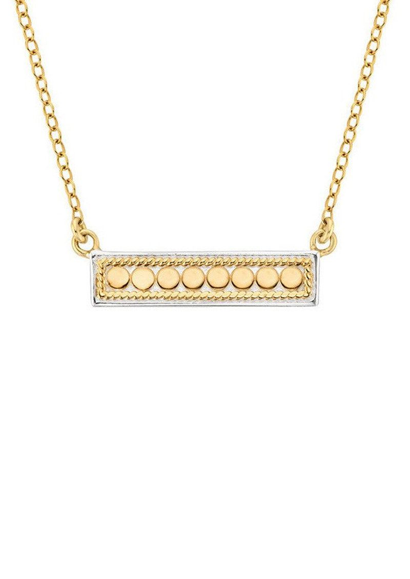 Bar Necklace - Gold main image
