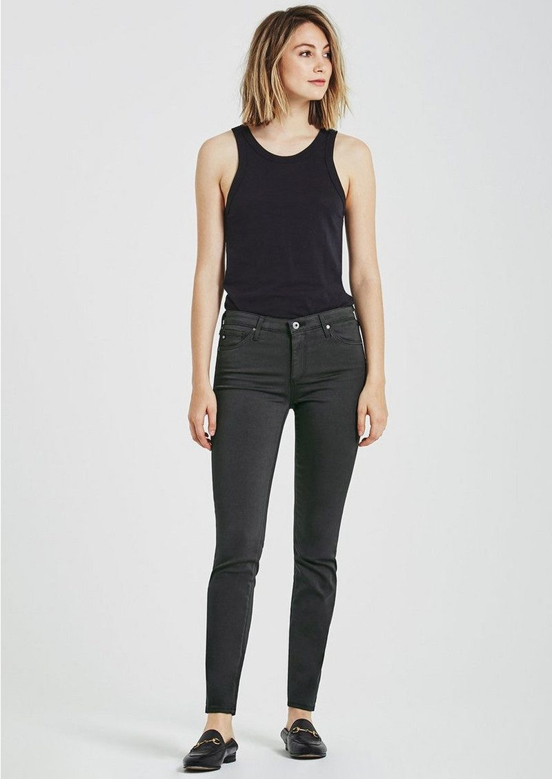AG JEANS The Sateen Prima Cigarette Jean - Cavern main image