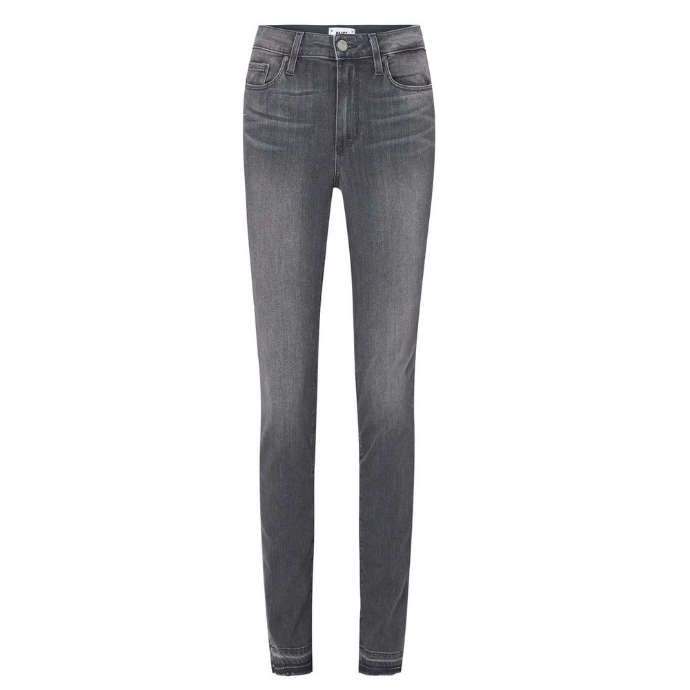 Hoxton Ankle Peg Released Hem Jeans - Silvie