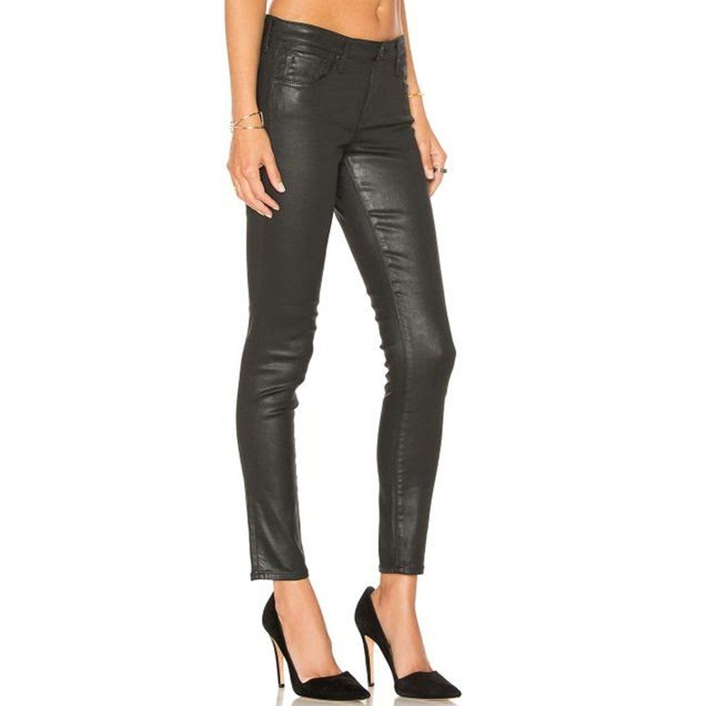 The Legging Ankle Jean - Black